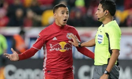 ONE FOOT IN THE GRAVE: Red Bulls face uphill battle after losing at home to Santos Laguna, 2-0