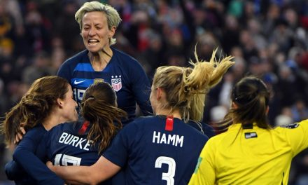 REPEATING HISTORY: Rapinoe: 'We can't make the same mistakes over and over again'