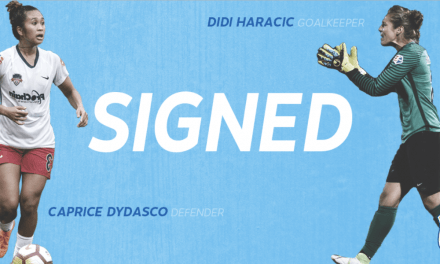SIGNING ON: Dydasco, Haracic agree to contracts with Sky Blue FC