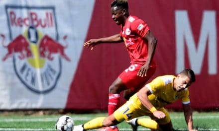 THE EQUALIZER: White lifts Red Bull II into 1-1 draw