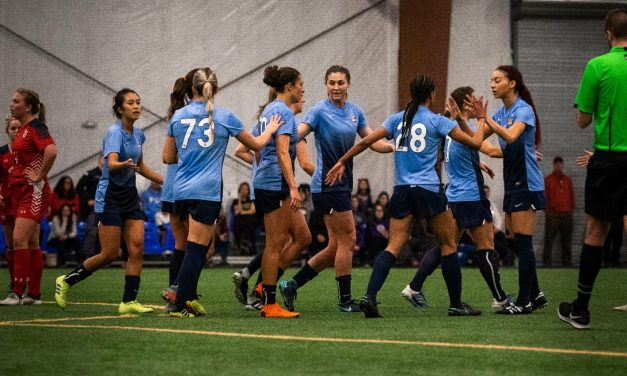 ON TRIAL: Amanda Rooney trying to catch on with Sky Blue FC