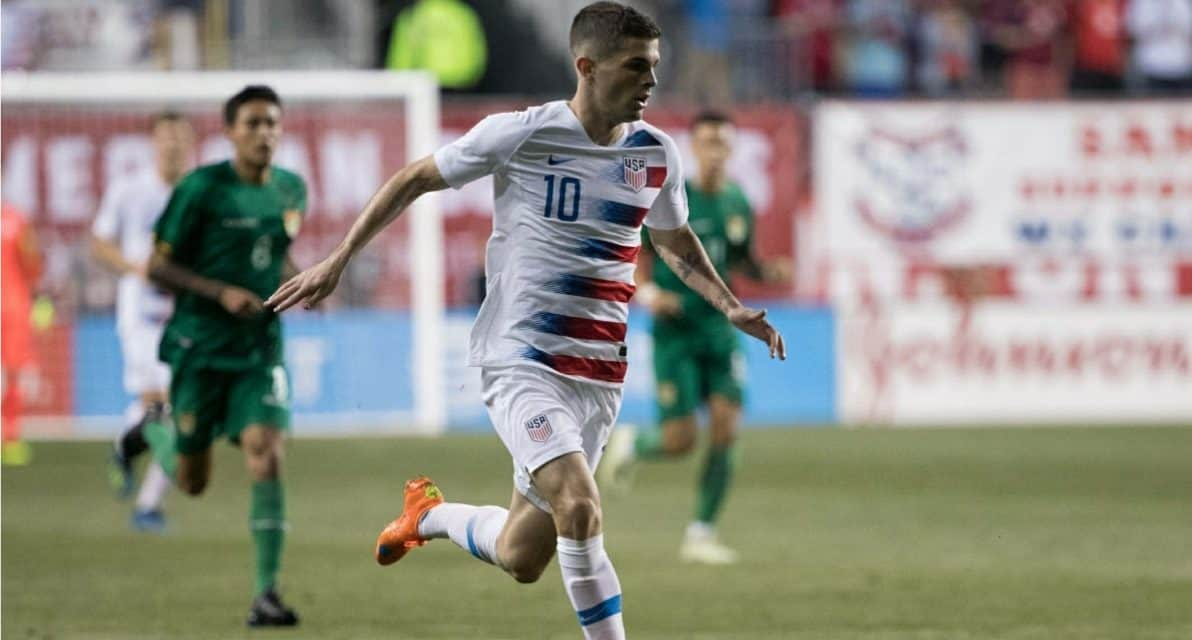 THOSE FACES ARE FAMILIAR: Pulisic, Gonzalez, Morris called into USMNT for friendlies