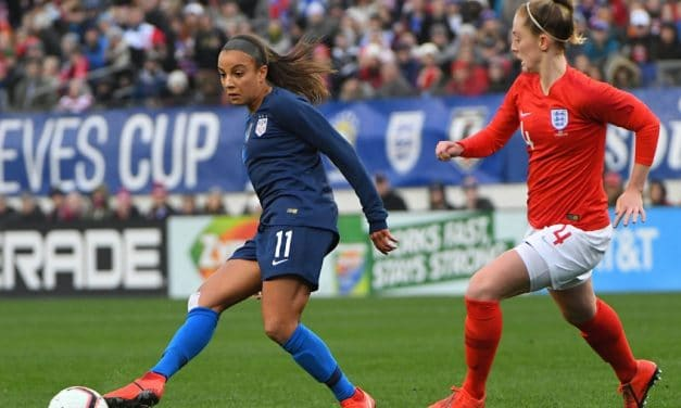 STILL IN THE RUNNING: U.S. women need a victory vs. Brazil and tie between England, Japan to win SheBelieves Cup