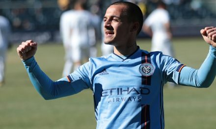 TYING YET ANOTHER ONE ON: NYCFC plays to 3rd consecutive draw, a 2-2 tie with LAFC
