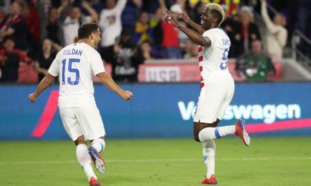 ONE IS ENOUGH: Zardes' deflected goal lifts U.S. over Ecuador