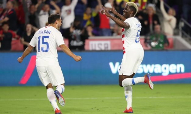 ONE IS ENOUGH: Zardes' deflected goal lifts U.S. over Ecuador