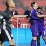 NO CHEERS? NO PROBLEM!: Sacha understands negative reaction after his goal