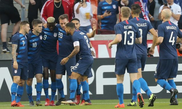 DRAWN TOGETHER: U.S., Chile play to 1-1 tie