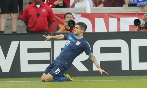 ECSTASY, THEN AGONY: After scoring, Pulisic suffers quadriceps injury
