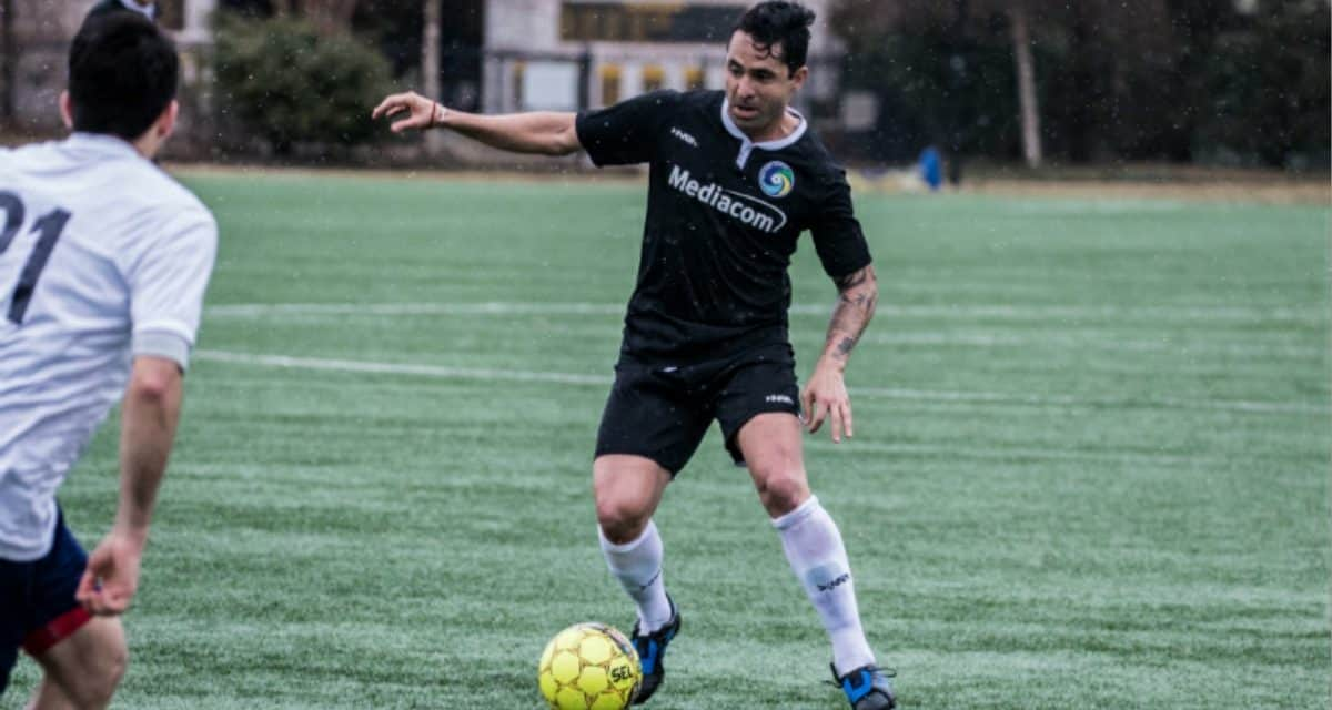 STILL UNBEATEN: Bocanegra's brace helps Cosmos (9-0-0) to 3-1 win over Boston City FC