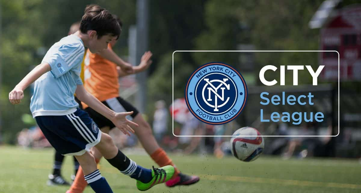 EXPANDED YOUTH LEAGUE: NYCFC will run City Select League this fall