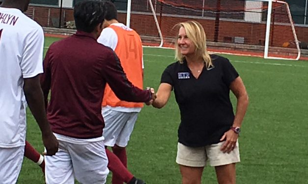 WOMEN'S SOCCER HISTORY MONTH (Day 6): Wyant believed to be the 1st woman to guide a men's team into an NCAA tournament