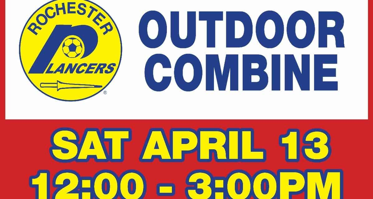 THIS SATURDAY: Lancers men to hold combine in Spencerport