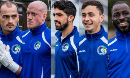 HIGH FIVE: Cosmos sign Blanchette, Corke, Falanga, Barone, Ledula