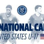 MAKING THE TEAM: NYCFC places 3 players and one coach on U-17 USMNT for World Cup