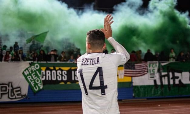 MORE THAN HOPEFUL: Szetela wants to return to the Cosmos