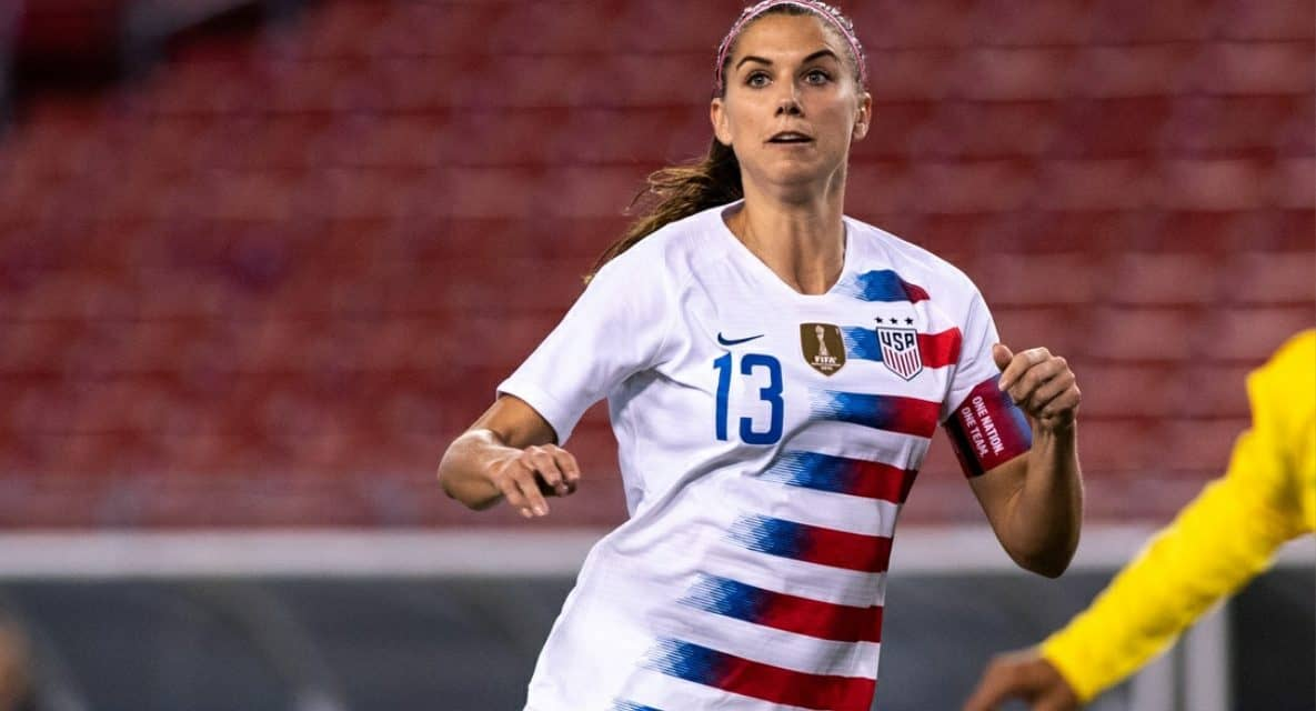 TOP 100: Alex Morgan named one of the most influential people in the world by Time