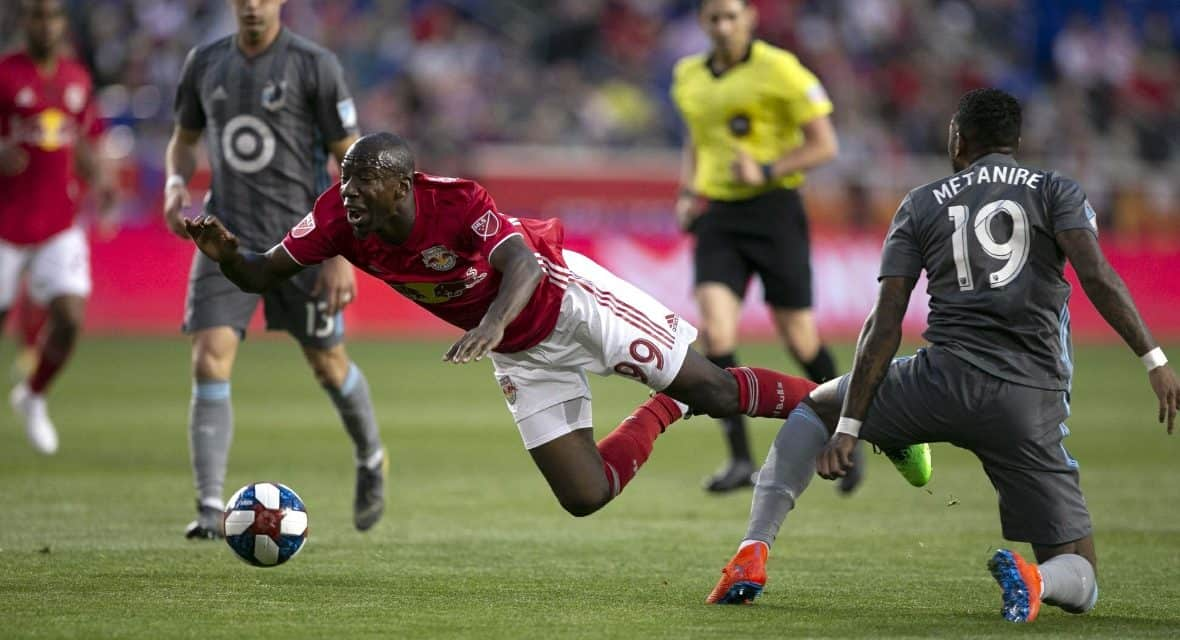 THREE STRAIGHT LOSSES: Red Bulls fall again, this time to Minnesota, 2-1