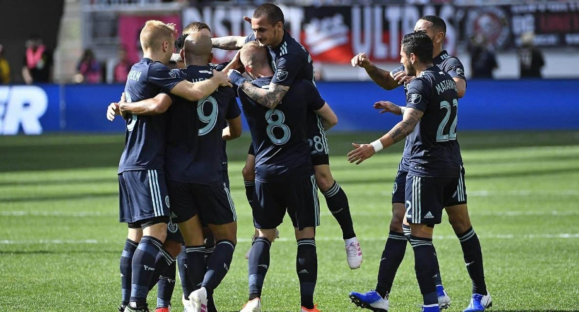 SOME FAMOUS FIRSTS: NYCFC secures 1st victory of the season while winning at D.C. for the 1st time