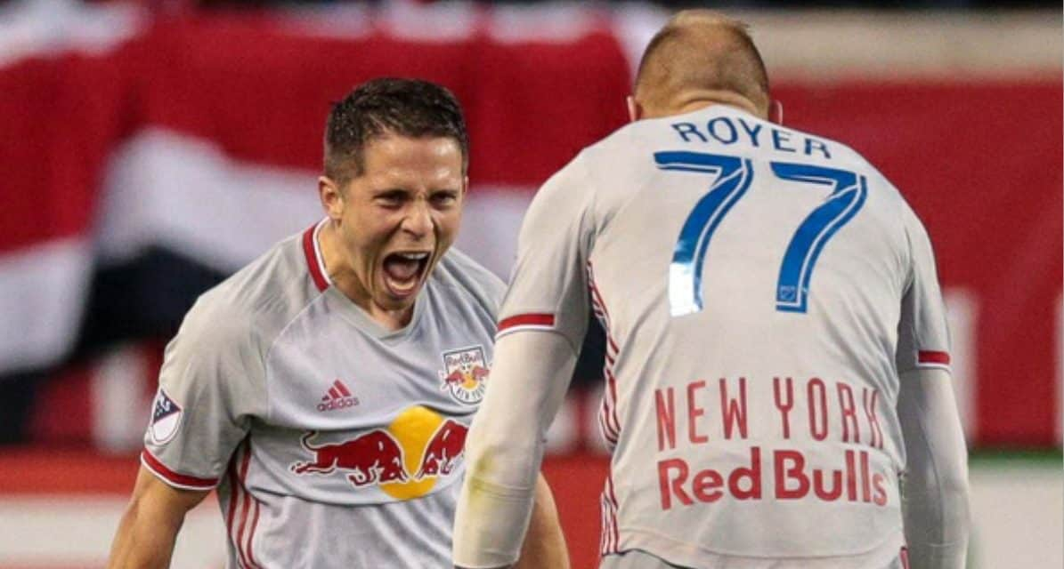 A RARE GOAL, A MILESTONE VICTORY: Lade tallies 2nd pro goal as Red Bulls win 100th league match at RBA