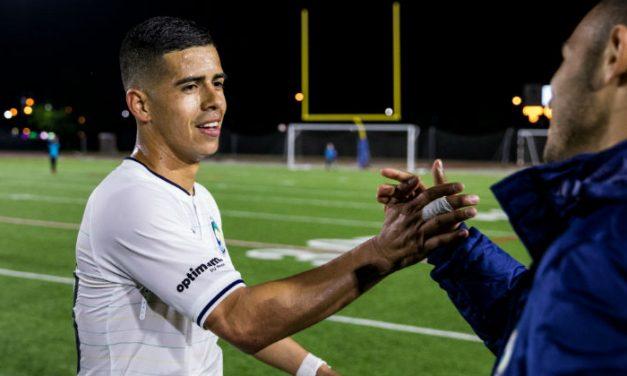 JUNIOR'S ACHIEVEMENT: Burgos razzles, dazzles with his free-kick brace