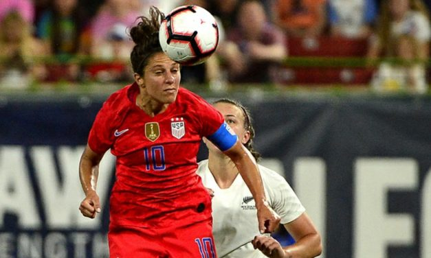 A DEUCE FOR LLOYD: Substitute helps lead U.S. women to 5-0 win over New Zealand