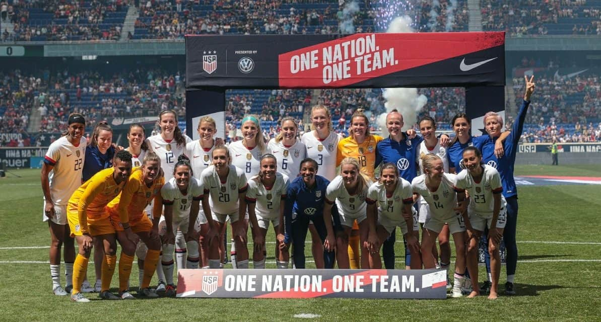 LONDON CALLING: USWNT to train at Tottenham complex