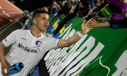 JUNIOR'S ACHIEVEMENT: Burgos' late free kick lifts Cosmos to win in Members Cup opener