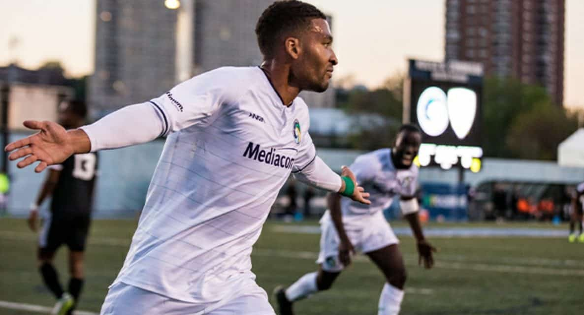 A DENNIS DOUBLE: Forward's brace leads Cosmos over Chattanooga