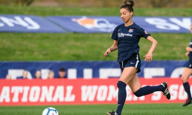 BACK FOR MORE: Johnson signs one-year deal with Sky Blue FC