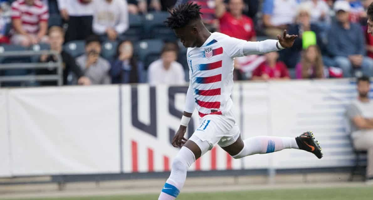 WEAH TO GO: Forward's goal lifts U.S. into U-20 World Cup knockout round