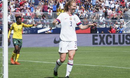PLAY IT AGAIN, SAM: Mewis' brace powers U.S. women to 3-0 win