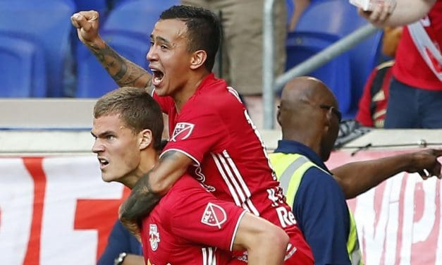 ONE MAN DOWN, ONE GOAL UP: 10-man Red Bulls continue home mastery of Atlanta