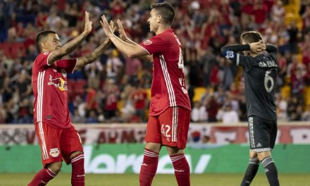 UNDERACHIEVERS: Red Bulls can't hold lead, settle for 2-2 home draw with Vancouver