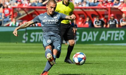 TYING ONE ON: NYCFC, Fire play to 1-1 draw