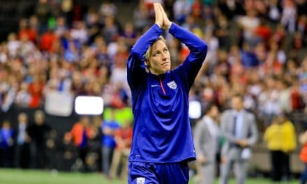 THE GOAL-SCORER: Abby Wambach elected to Soccer Hall on 1st ballot