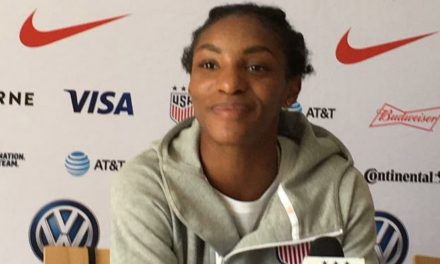 SHE'S CRYSTAL CLEAR: Dunn talks about USA's next game at World Cup
