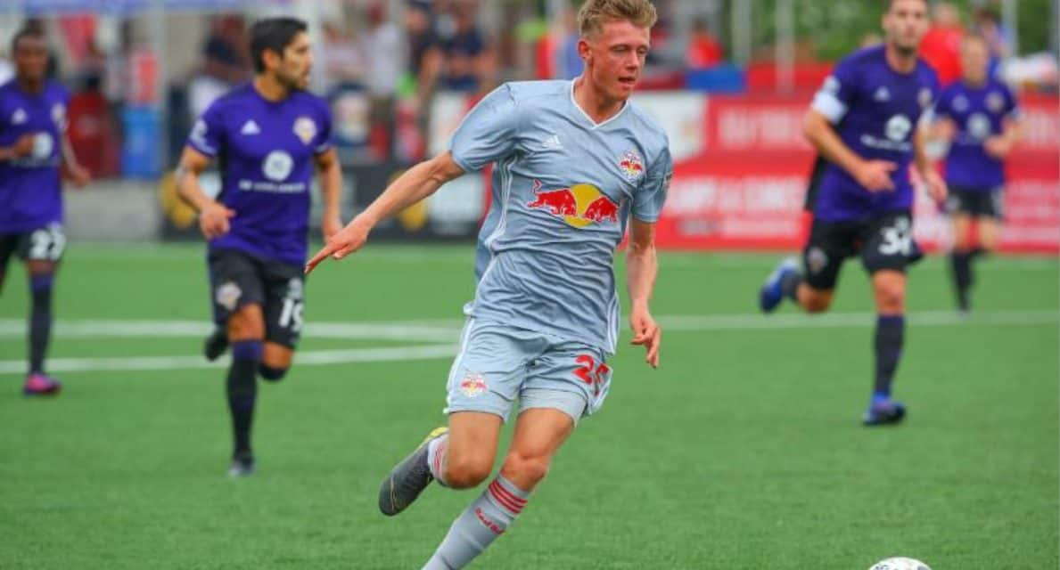 CAN'T HOLD THE LEAD: Red Bull II allows late equalizer