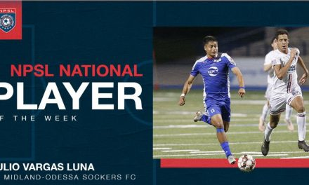 NPSL HONORS: Midland-Odessa forward Luna named player of the week