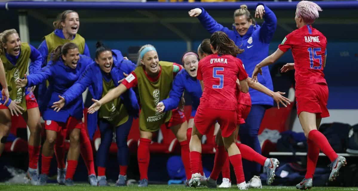 OFFSIDE REMARKS: Will karma come back to haunt the USWNT down the road due to late goal celebrations?
