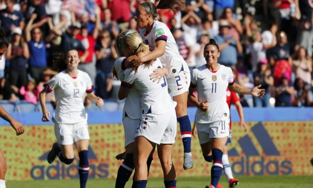 SEND IN THE B TEAM: Using mostly reserves, U.S. women blank Chile to clinch knockout-round berth