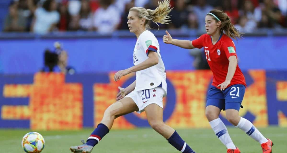 ALLIE'S LONG JOURNEY: U.S. midfielder's success has been a combination of superior talent and an inner drive second to none