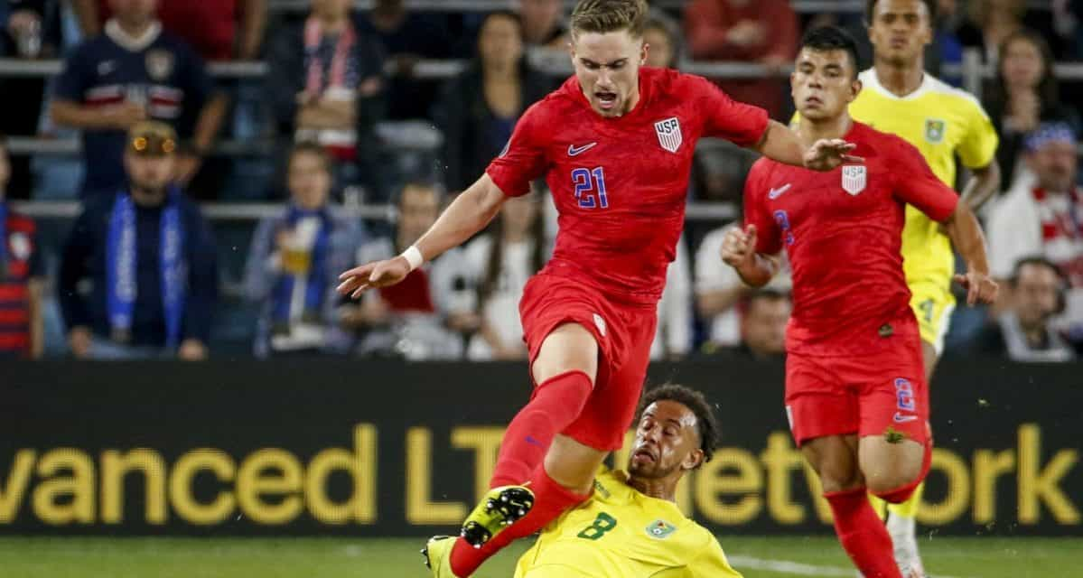 TYLER, TWO: Boyd strikes twice as U.S. men win Gold Cup opener while scoring the 1,000th goal in their history