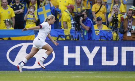 RUNNING THE TABLE: USA women improve to 3-0 with 2-0 win over Sweden