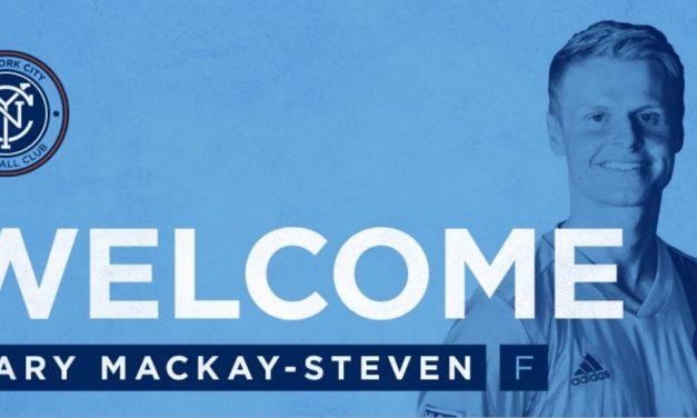 ADDING DEPTH: NYCFC sign Aberdeen winger Mackay-Steven