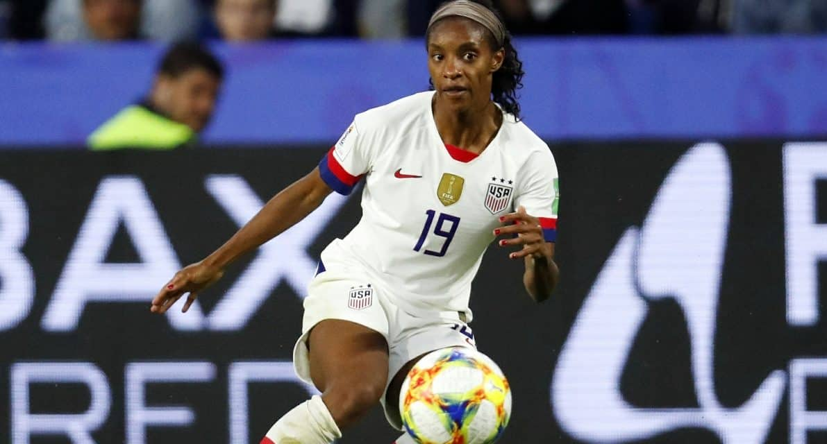 HERE, THERE, EVERYWHERE: Rockville Centre's USWNT standout Crystal Dunn is arguably the world's most versatile women's soccer player
