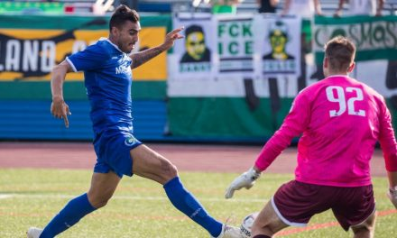 RETURNING IN STYLE: Acuna comes through for Cosmos, dedicates goal to his wife