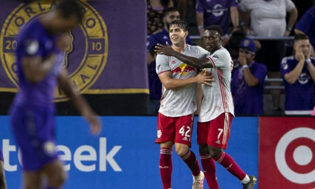 ONE IS ENOUGH: White's goal gives Red Bulls 1-0 win at Orlando