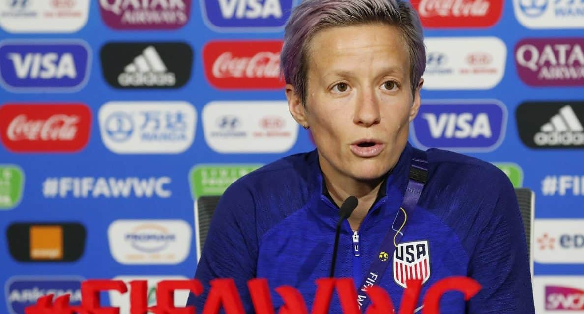 NO RESPECT: Rapinoe assails FIFA for scheduling 2 other finals on the same day as the Women's World Cup final, and the pay gap