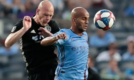 WHAT PRICE VICTORY?: Moralez injured as NYCFC stops Kansas City, 3-1